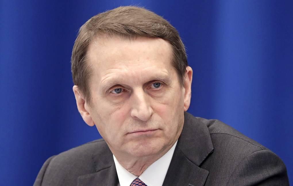 Nariškin: Opozicionari koji predlažu uvođenje sankcija izdajnici sopstvenog naroda