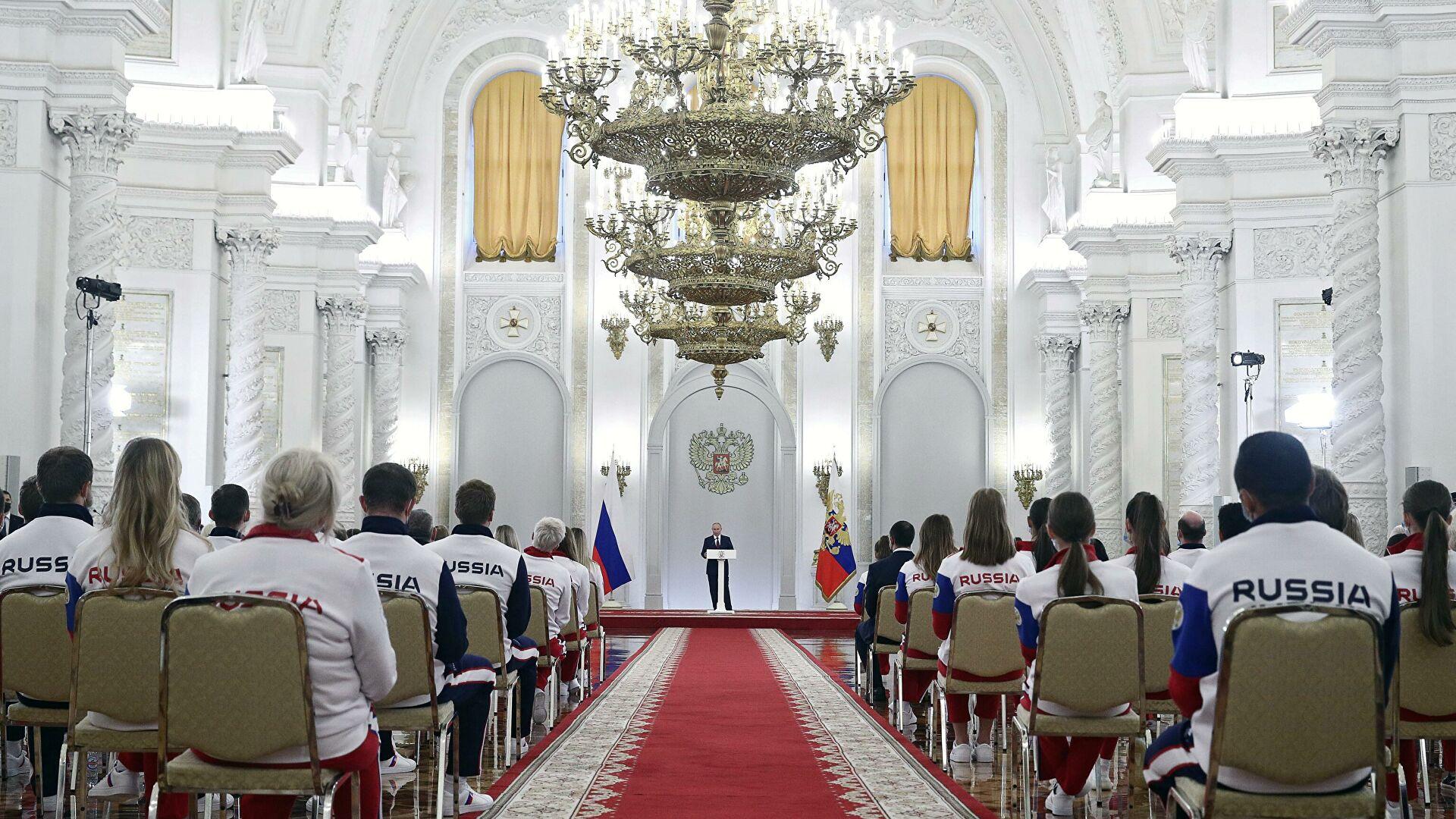 Путин: Резултати руских олимпијаца доказују да су сви покушаји политизације спорта штетни и бесмислени