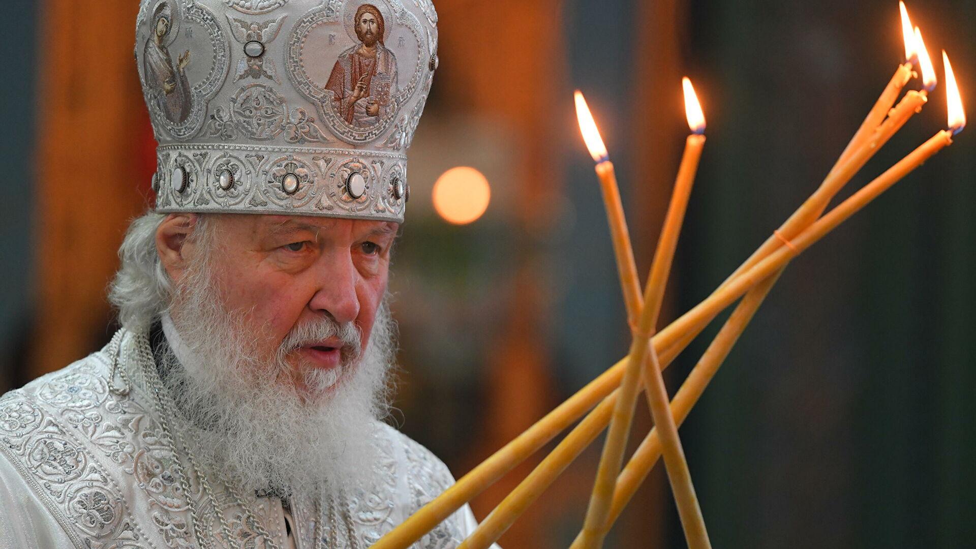Патријарх Кирил: Одређене политичке снаге утичу на кризу у православном свету