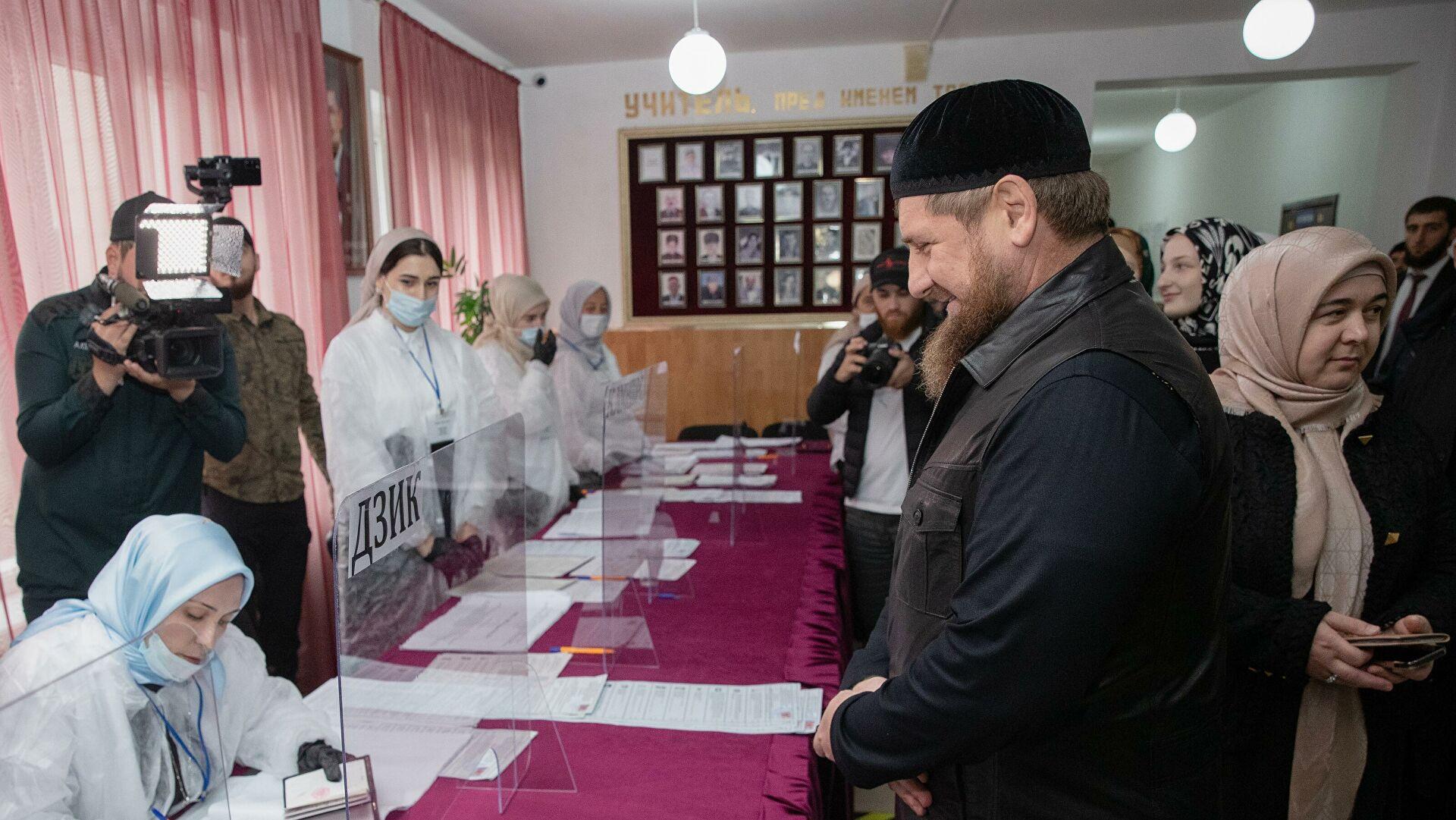Kadirov pobedio na izborima za predsednika Čečenije sa 99,7% glasova