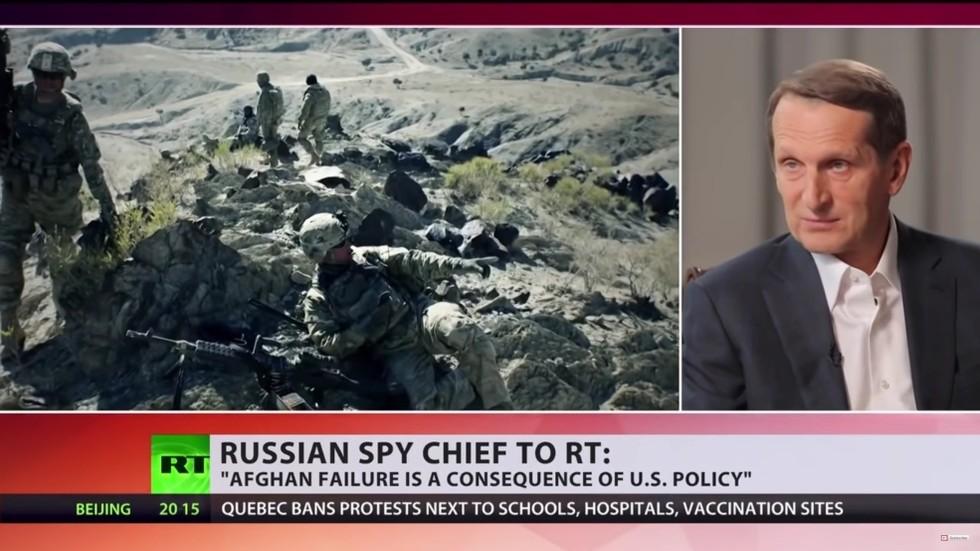 """РТ: """"САД нису хтеле да се суоче са истином да више нису глобални хегемон"""", наводи шеф Спољне обавештајне службе Русије"""