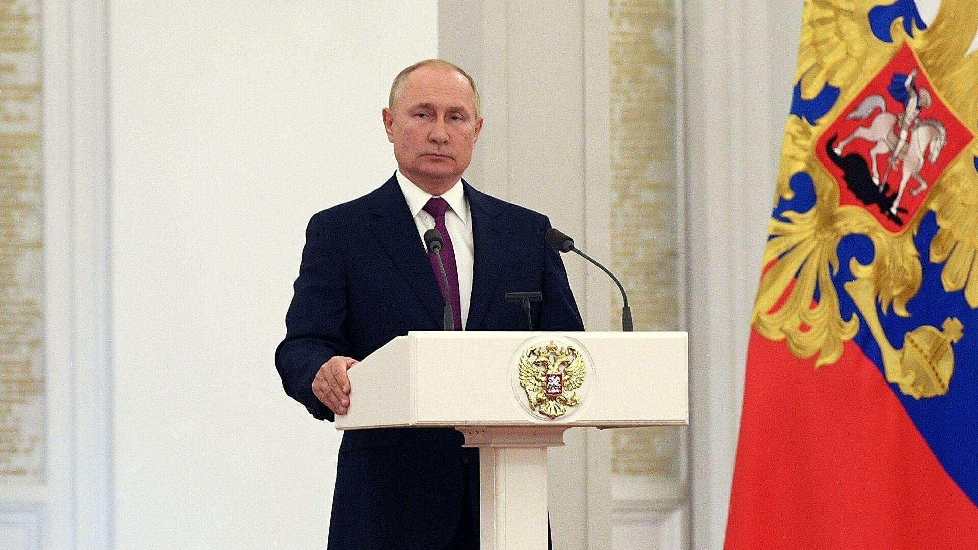 Путин поставио задатке Државној думи