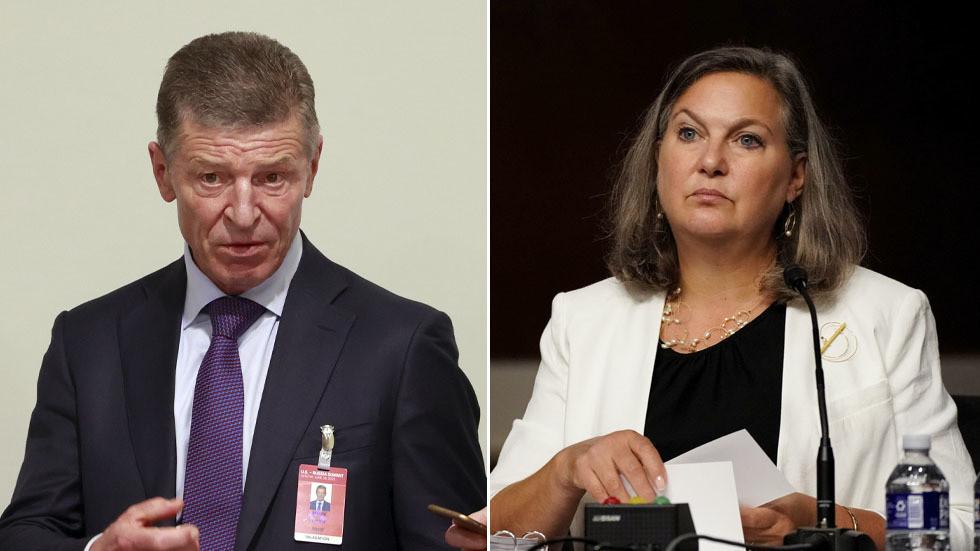 РТ: Кремљ саопштио да се САД и Русија слажу да Украјина мора дати Донбасу посебан аутономни статус, док Нуландова поздравља продуктиван састанак у Москви