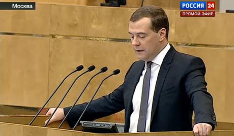 Медведев: економски раст у свету успорен