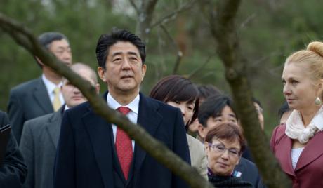 Пролазак премијера Јапана кроз Москву паралисао град