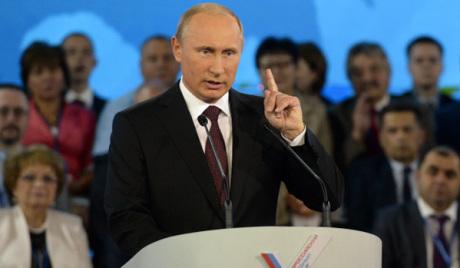 Владимир Путин постао лидер Народног фронта