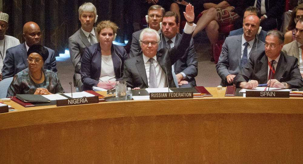 Чуркин: Руско право вета спречава диктат САД