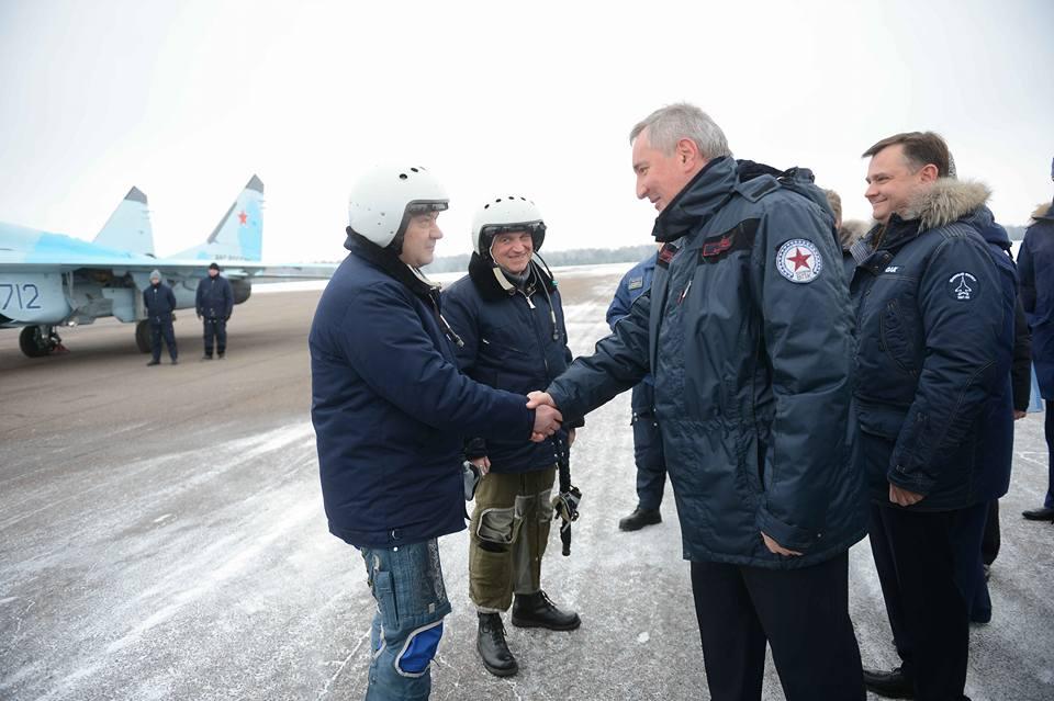 Рогозин: Русија има три савезника — војску, ратну морнарицу и војно-индустријски комплекс
