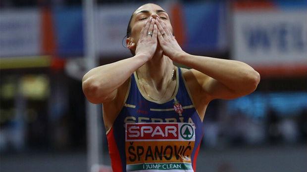 Ивана Шпановић освојила злато у Београду!