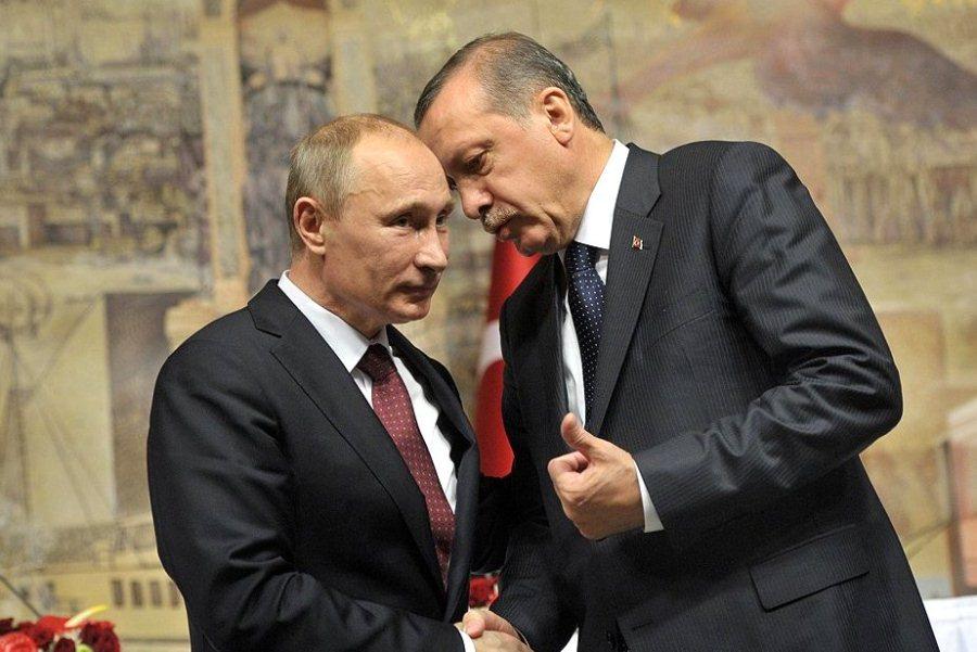 Путин разговарао са Ердоганом о ситуацији у Сирији