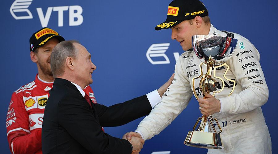 Ботас победник трке Формуле 1 за Велику награду Русије