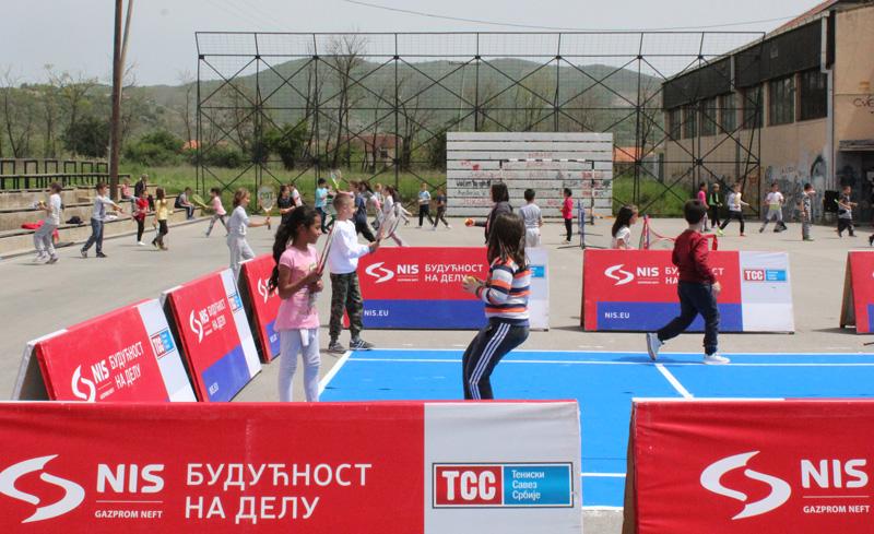 Бесплатна школa тениса у Грачаници