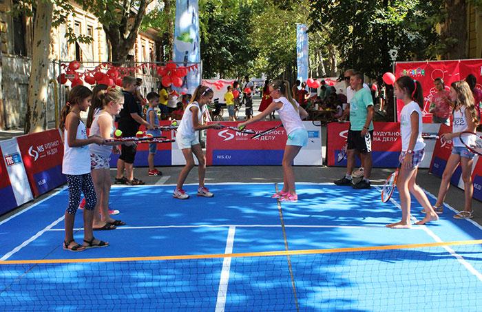 Одржана НИС отворена школа тениса у Новом Бечеју