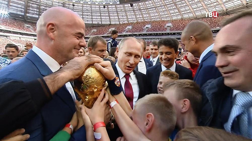 Русија ће предузети све неопходне мере како би квалитетно припремила СП у фудбалу 2018. године