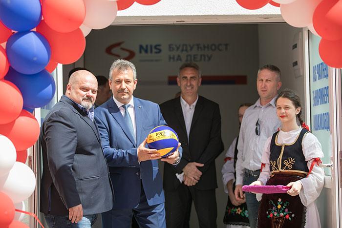 НИС подржао реконструкцију Центра за тренинг одбојкаша у Зрењанину