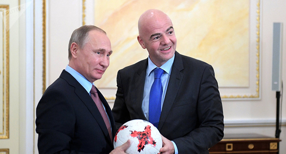 Путин: Русија спремна да сарађује са свима ради јачања начела спорта