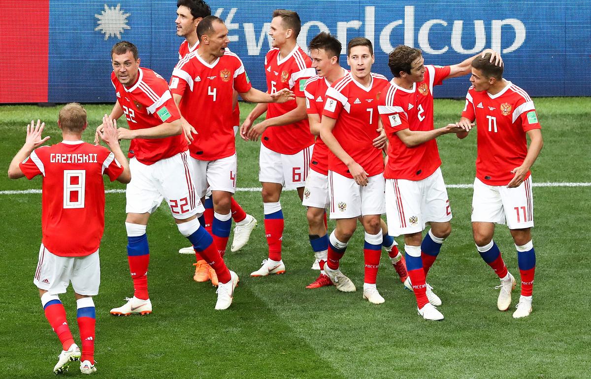 Rusija praktično u osmini finala