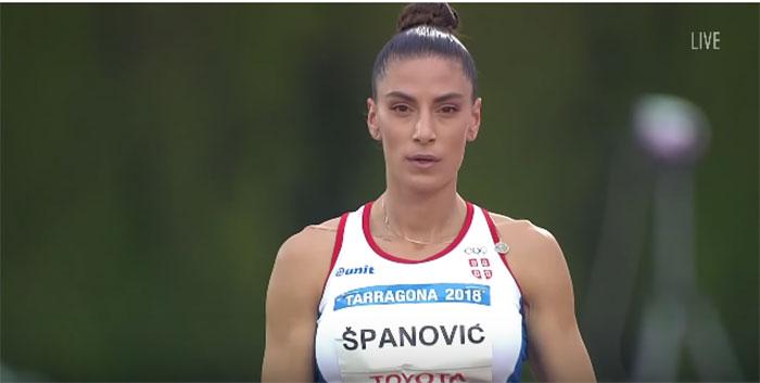 Злато за Ивану Шпановић у Тарагони