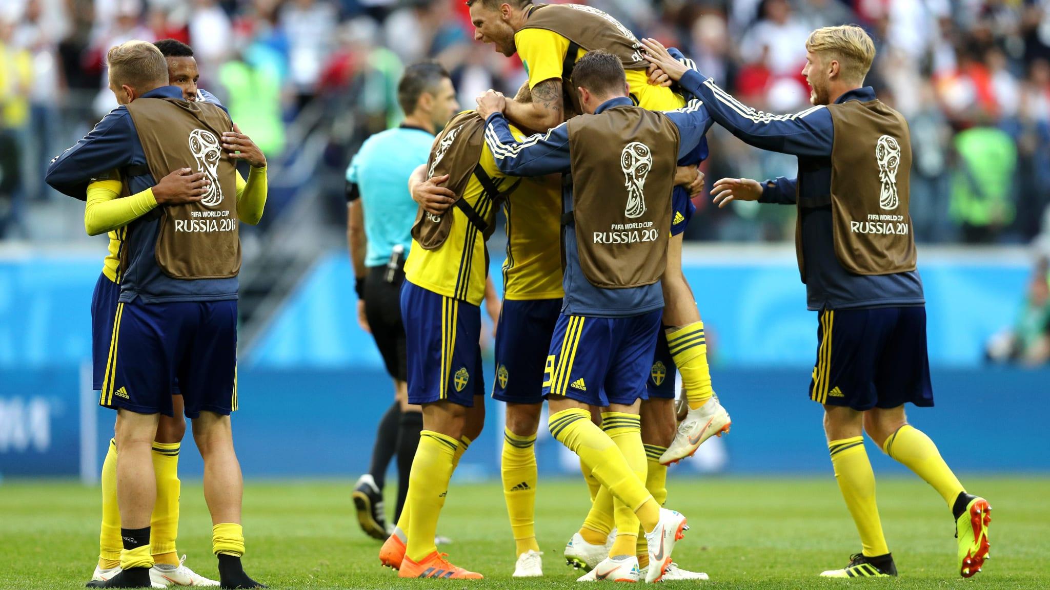 Minimalna pobeda Švedske, Švajcarci idu kući