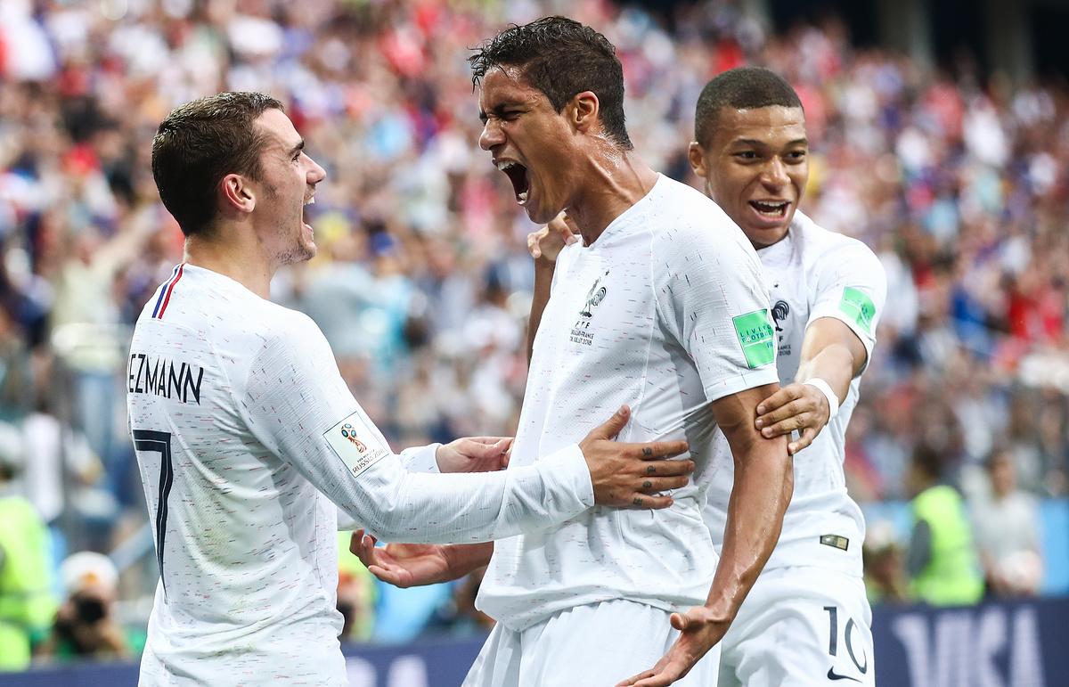 Уругвај 0 - 2 Француска