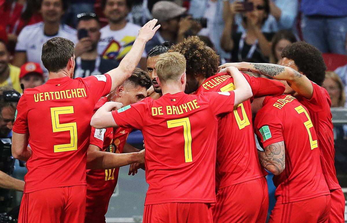 Бразил 1 — 2 Белгија