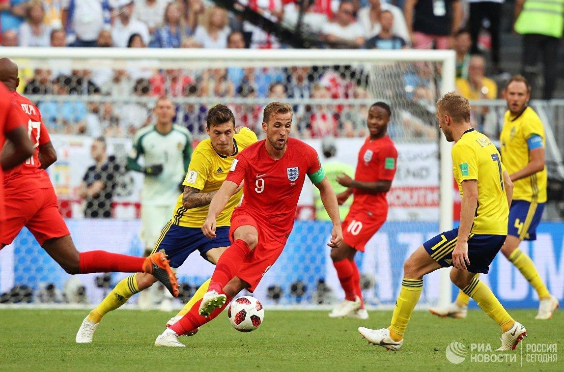 Енглеска 2 - 0 Шведска
