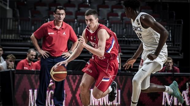 Јуниорска репрезентација Србије у финалу Европског првенства
