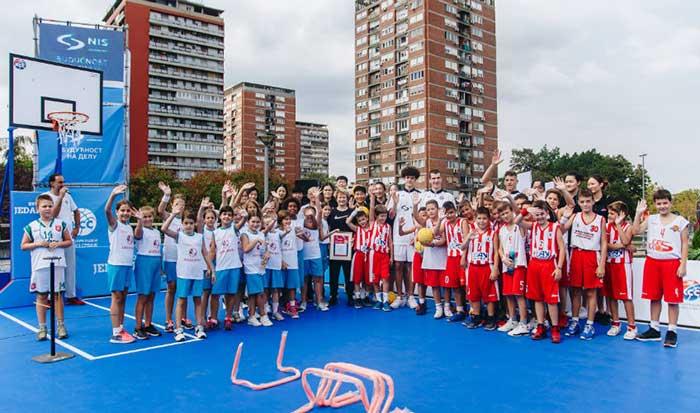 НИС и КСС организовали турнир за младе кошаркаше у Београду