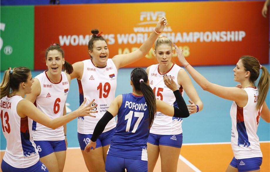 Odbojkašice Srbije sa pet pobeda bez izgubljenog seta završile prvu fazu Svetskog prvenstva