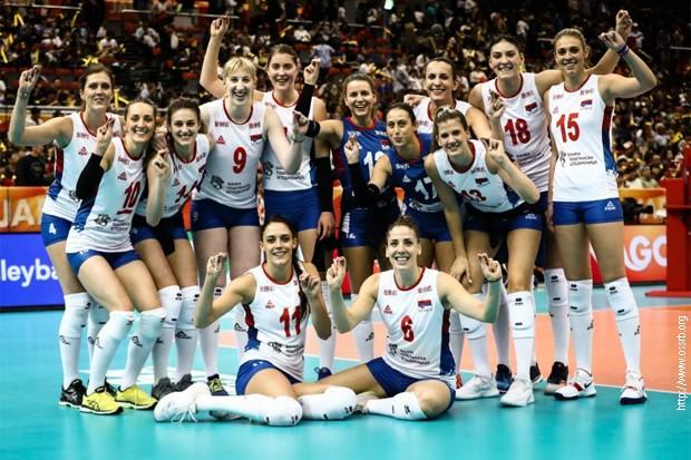 Одбојкашице Србије у полуфиналу Светског првенства
