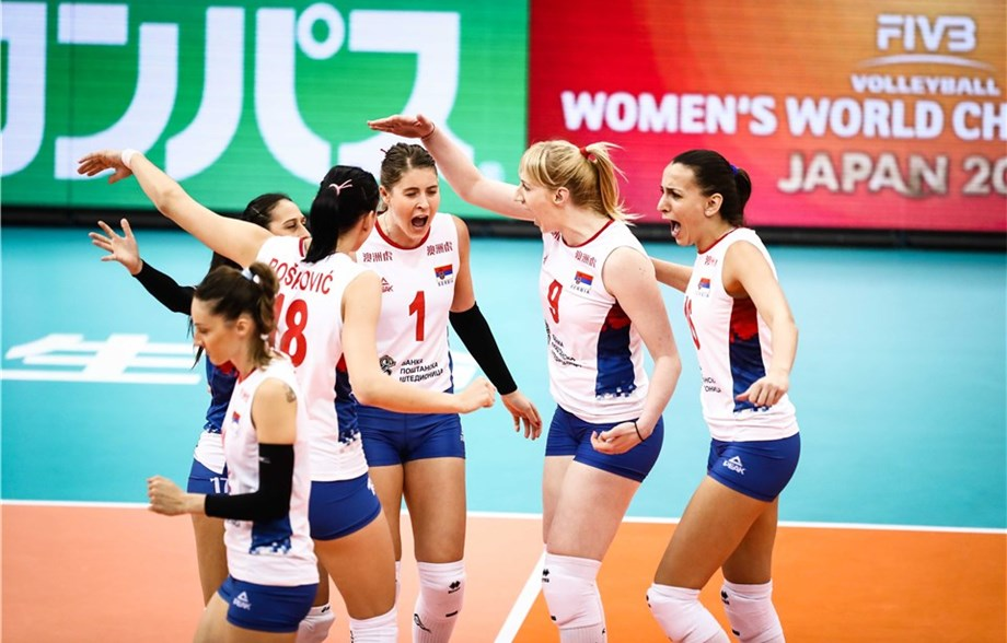 Odbojkašice Srbije prve u grupi, sledi polufinale