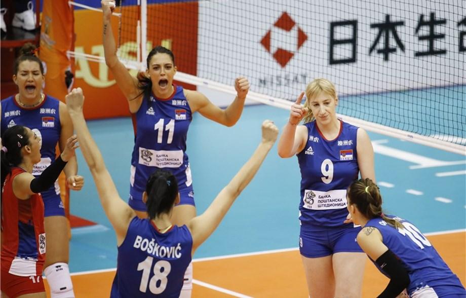 Odbojkašice Srbije u finalu Svetskog prvenstva