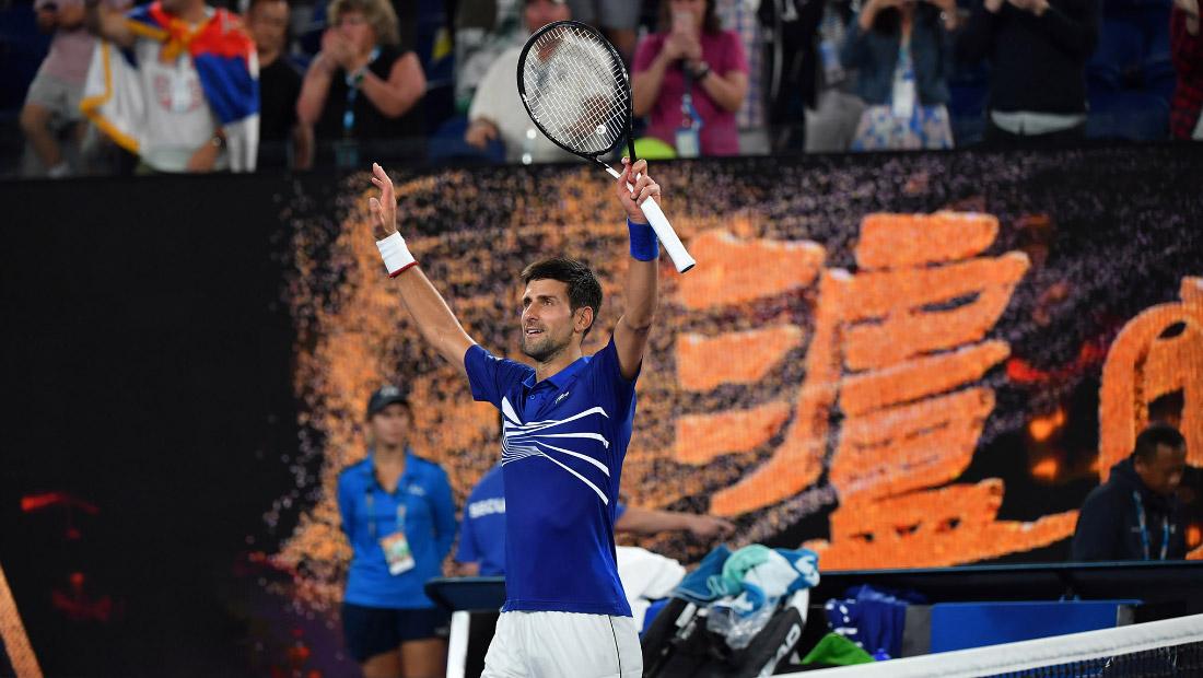 Ђоковић први тенисер у историји који је садм победио на Аустралијан опену