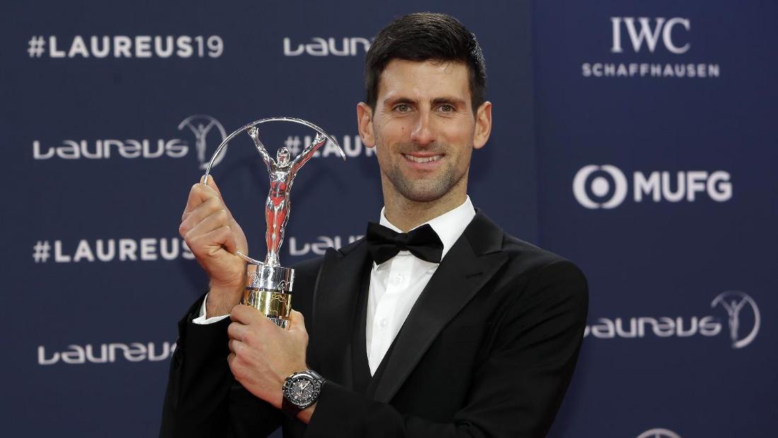 Новак Ђоковић четврти пут најбољи спортиста света!