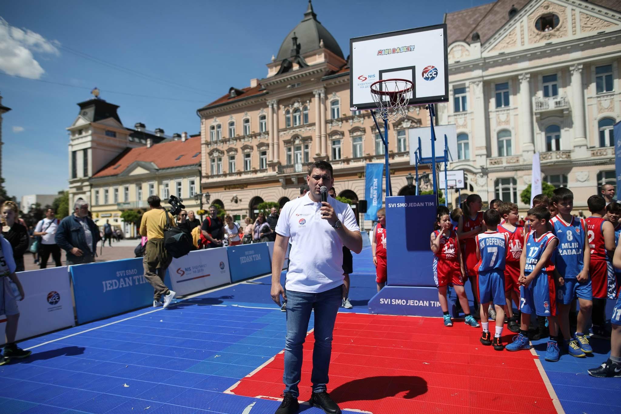 NIS i KSS organizovali košarkaški turnir za najmlađe u Novom Sadu