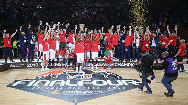 CSKA osvojio trofej Evrolige