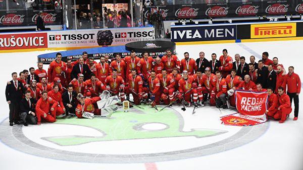 Руска хокејашка репрезентација освојила треће место на Светском првенству