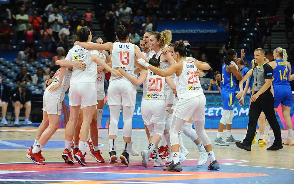 Srbija u polufinalu EP