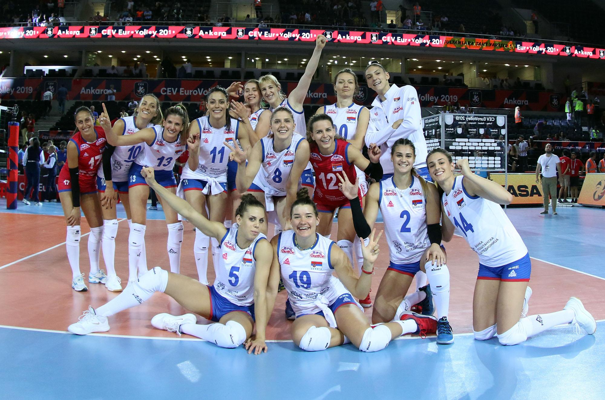 Sigurna igra Srbije za plasman u četvrtfinale EP