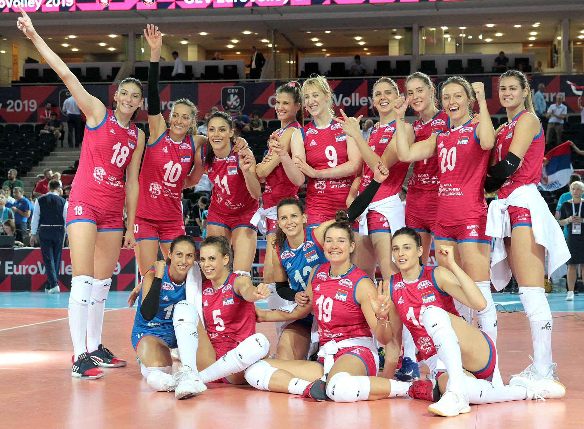 Србија одбранила титулу првака Европе!