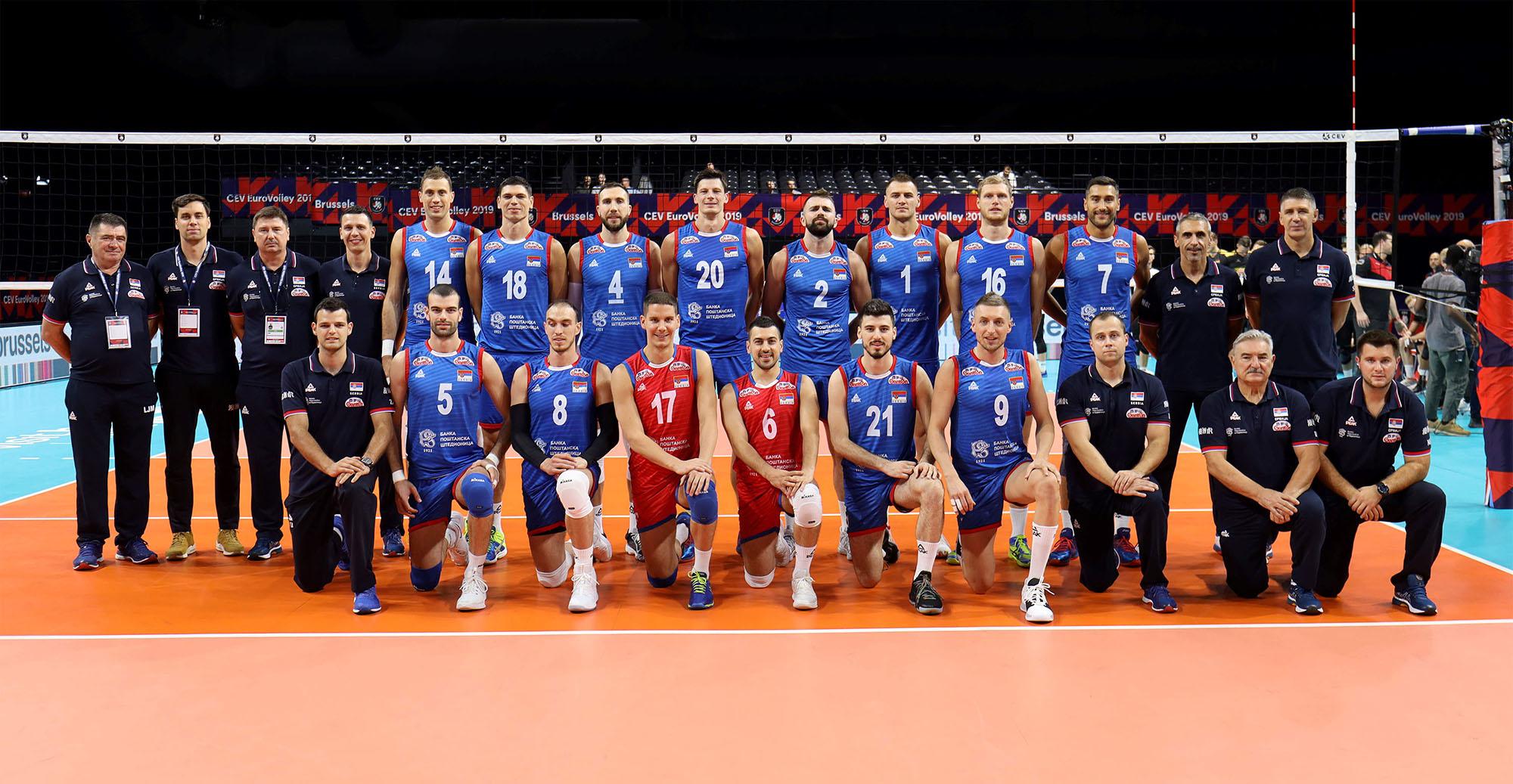 Србија без изгубљеног сета против Чешке до четвртфинала