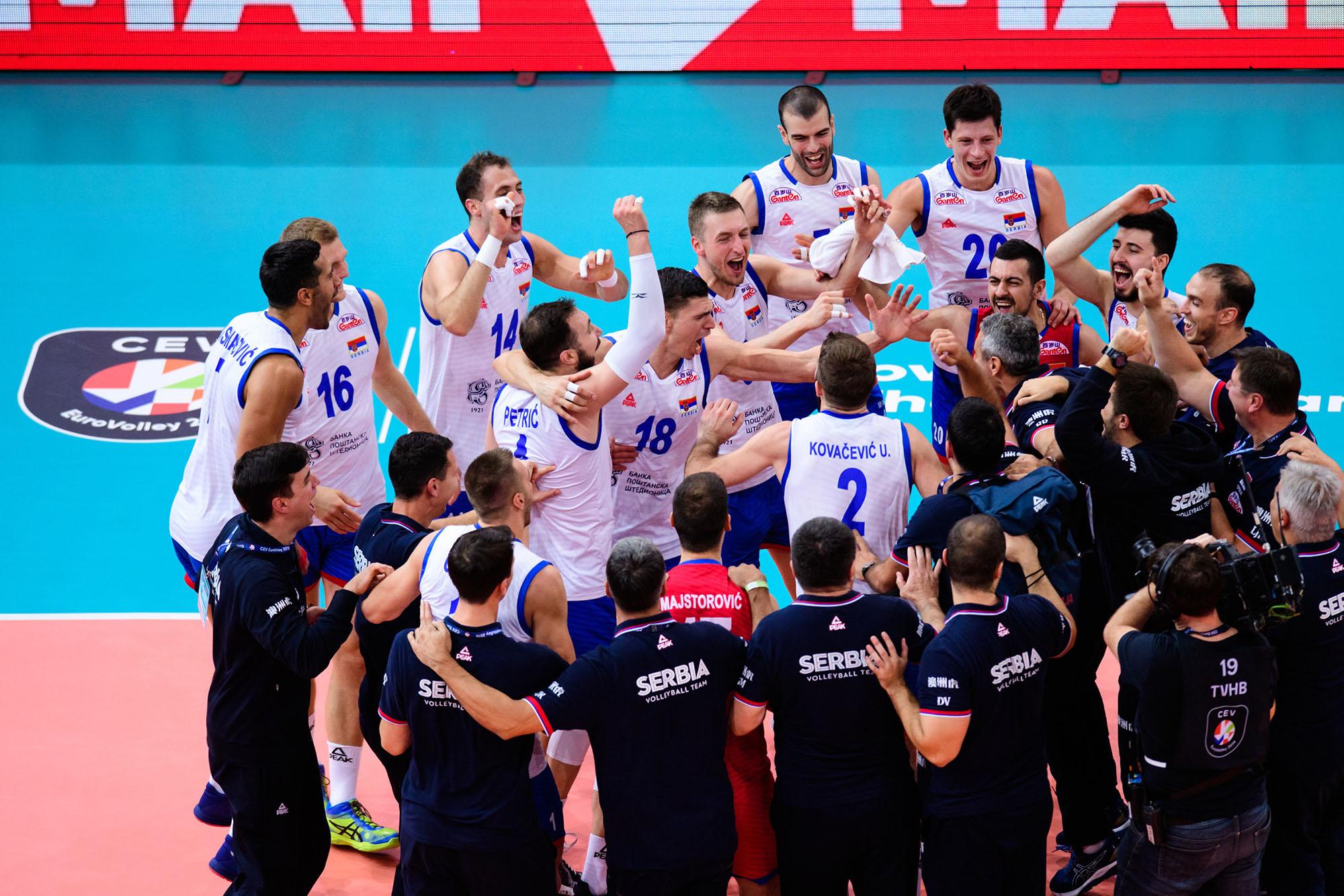 Srbija je prvak Evrope!