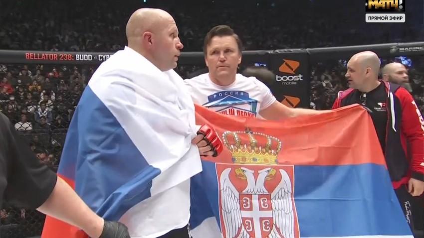 Nova pobeda pod ruskom i srbskom zastavom: Fjodor nokautirao Rempejdža
