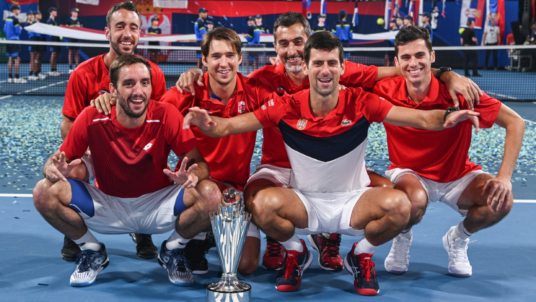 Србија освојила АТП куп!