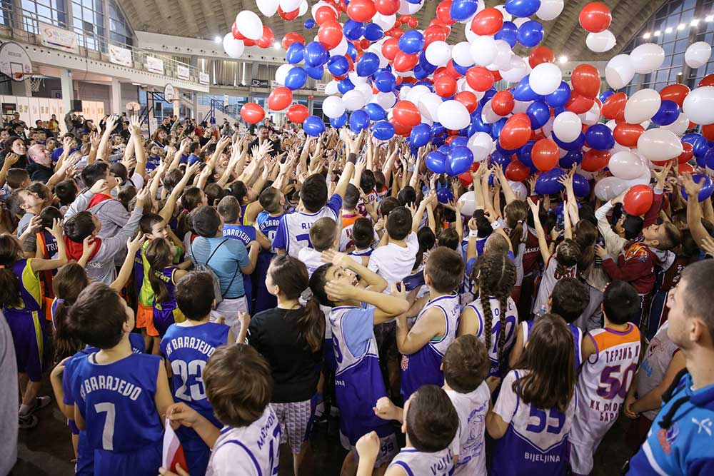 Свечано отворен јубиларни, XX Међународни мини баскет фестивал «Рајко Жижић», уз подршку НИС-а