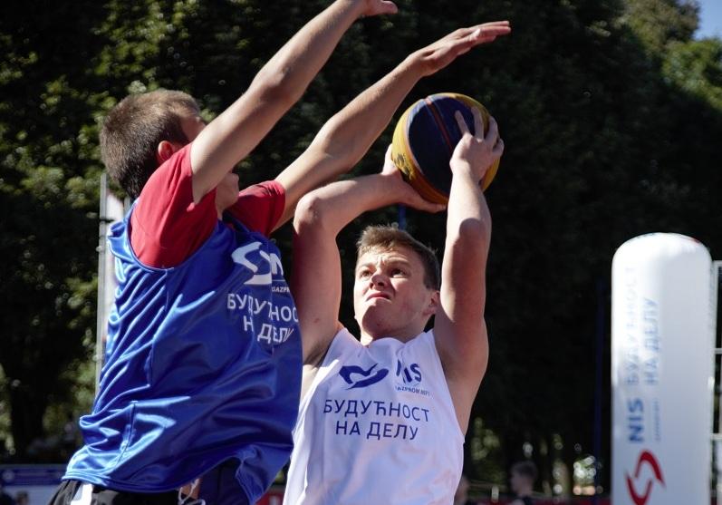 НИС организовао турнир у баскету у оквиру Спортских игара младих у Чачку