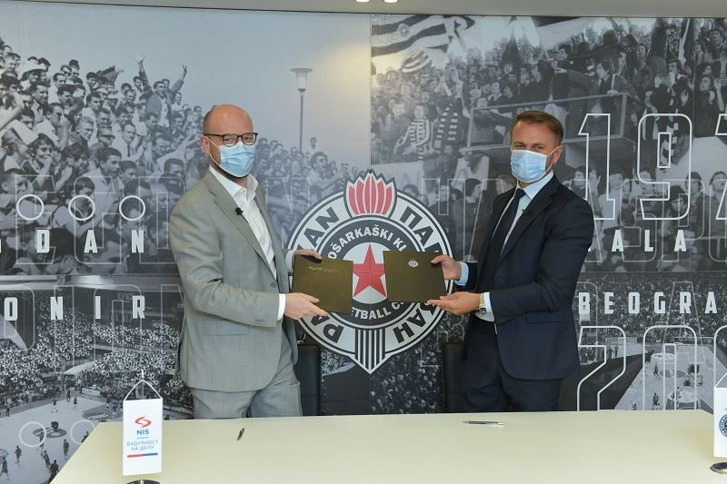 "NIS i Košarkaški klub ""Partizan"" nastavljaju saradnju"