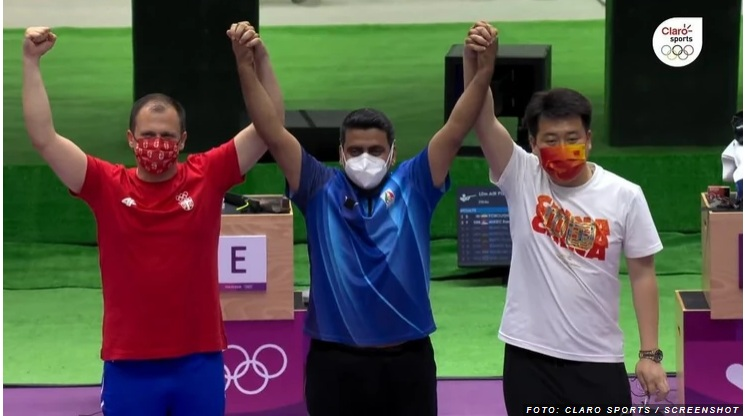 Прва медаља за Србију - Микец освојио сребро у дисциплини ваздушни пиштољ