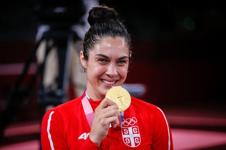 Прво злато за Србију у Токију, друго олимпијско у каријери Милице Мандић!