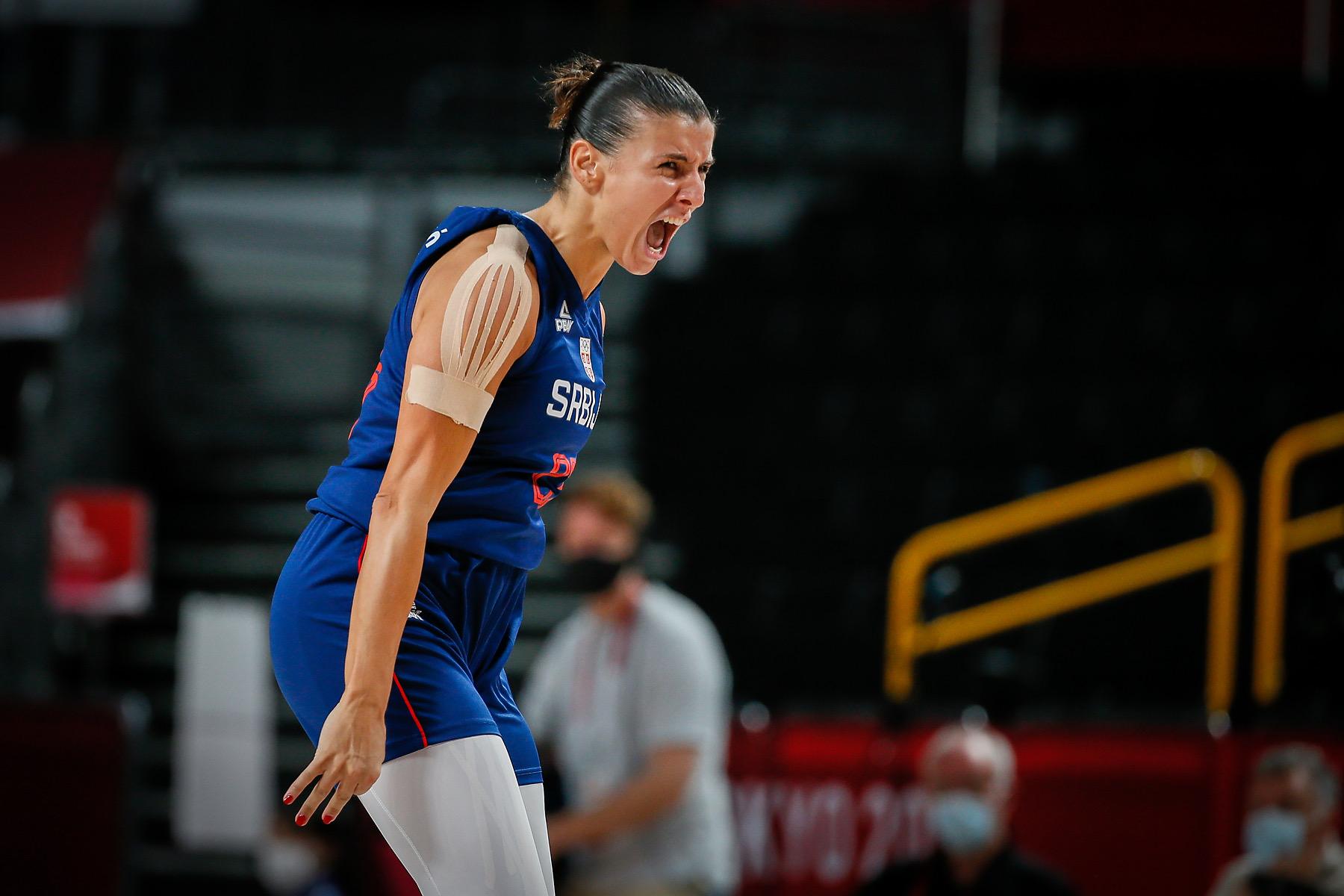 Košarkašice Srbije se plasirale u polufinale Olimpijskih igara